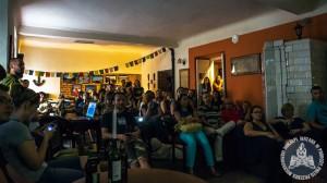 Ponad 60 osób w letnią niedzielę przyszło do Południka Zero na Wilczej w Warszawie
