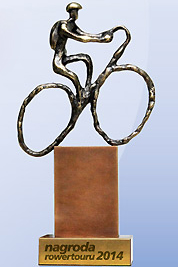 Nagroda rowertouru - Podróż Roku 2014